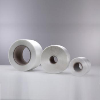 Las cintas de fleje textil tienen una alta resistencia, elasticidad y adaptabilidad. Se utilizan para embalajes especiales con cargas de gran peso o mercancías frágiles. El fleje textil se adapta al paquete sin deformarlo.